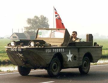 Amphibious Jeep - Jeep History